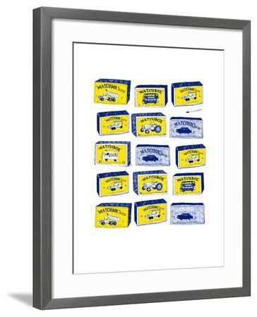 Lesney Matchbox Collection-Hanna Melin-Framed Giclee Print