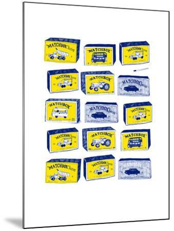 Lesney Matchbox Collection-Hanna Melin-Mounted Giclee Print