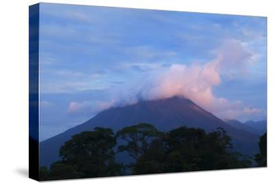 Arenal Volcano National Park, View of the Volcano.-Stefano Amantini-Stretched Canvas Print