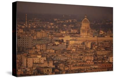 View of Havana Cuba-DLILLC-Stretched Canvas Print