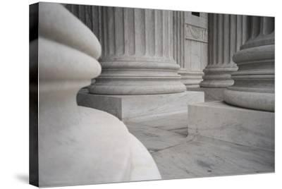 US Supreme Court-DLILLC-Stretched Canvas Print
