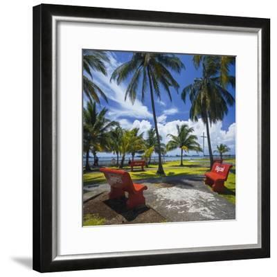 Parque De La Juventud on the Waterfront in Colon.-Jon Hicks-Framed Premium Photographic Print