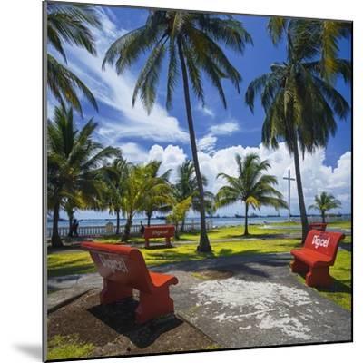 Parque De La Juventud on the Waterfront in Colon.-Jon Hicks-Mounted Premium Photographic Print