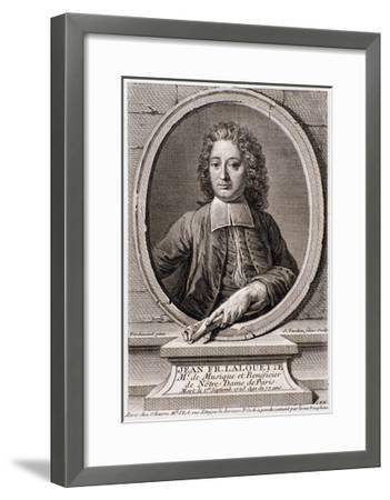 Portrait of Jean Francois Lalouette--Framed Giclee Print