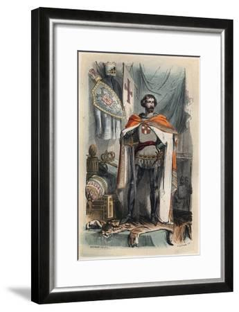 Portrait of Baldwin I of Constantinople-Stefano Bianchetti-Framed Giclee Print