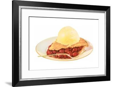 Cherry Pie A La Mode-Found Image Press-Framed Giclee Print