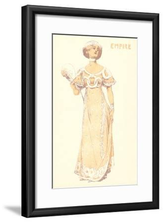 French Women's Fashion, Empire-Found Image Press-Framed Giclee Print