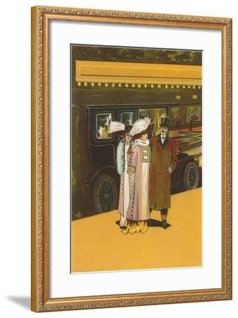 French Women's Fashion-Found Image Press-Framed Giclee Print