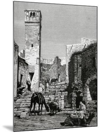 History of Tunisia. 19Th Century. El Kef.-Tarker-Mounted Giclee Print