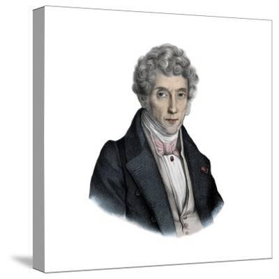 Italian Composer Luigi Cherubini-Stefano Bianchetti-Stretched Canvas Print
