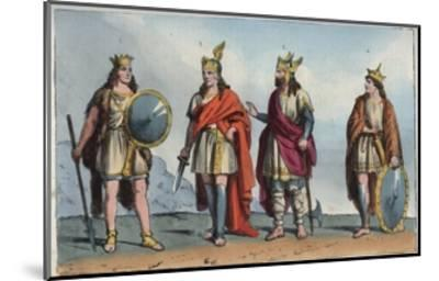 Merovingian Dynasty-Stefano Bianchetti-Mounted Giclee Print