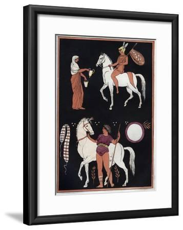 Way to Mount a Horse-Stefano Bianchetti-Framed Giclee Print