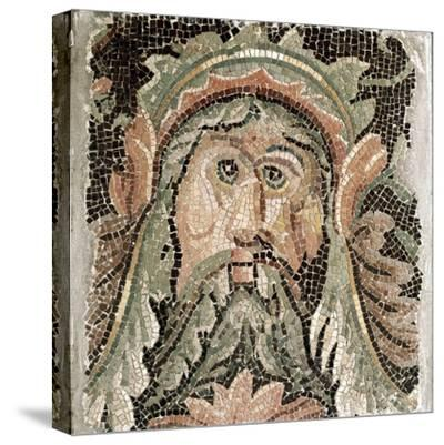 Roman Art: Sea Divinity--Stretched Canvas Print