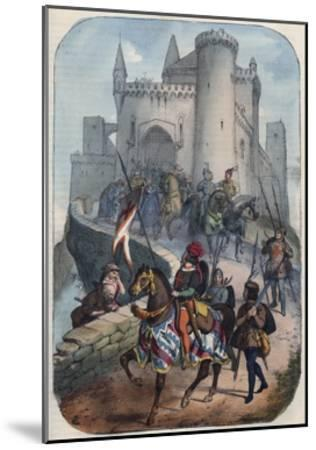 Departure of the Lombards for the First Crusade-Stefano Bianchetti-Mounted Giclee Print