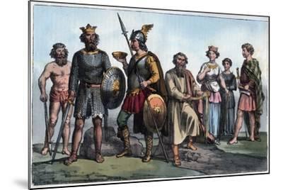 Saxon Warrior-Stefano Bianchetti-Mounted Giclee Print