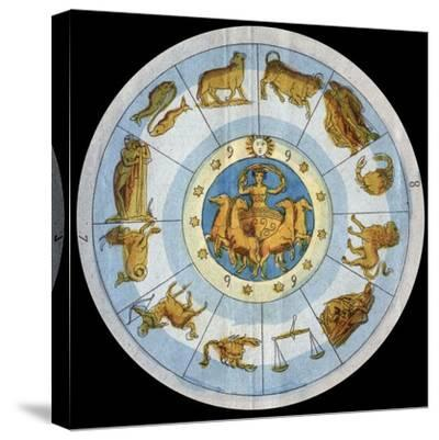 Astrological Sign-Stefano Bianchetti-Stretched Canvas Print