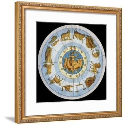 Astrological Sign-Stefano Bianchetti-Framed Giclee Print