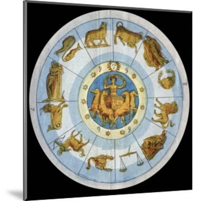 Astrological Sign-Stefano Bianchetti-Mounted Giclee Print