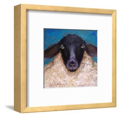 Lester the Lamb-Cheri Wollenberg-Framed Art Print
