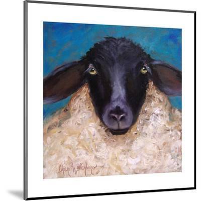 Lester the Lamb-Cheri Wollenberg-Mounted Art Print