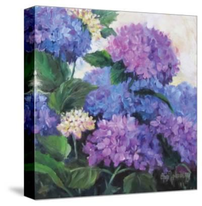 Hydrangea-Cheri Wollenberg-Stretched Canvas Print