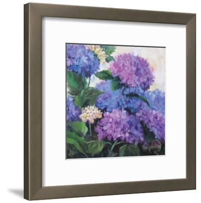 Hydrangea-Cheri Wollenberg-Framed Premium Giclee Print