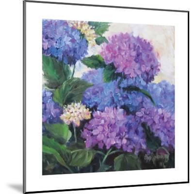 Hydrangea-Cheri Wollenberg-Mounted Premium Giclee Print