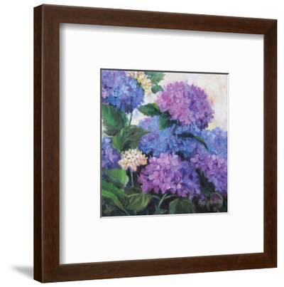 Hydrangea-Cheri Wollenberg-Framed Art Print