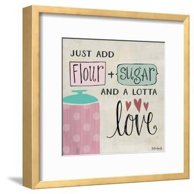 Flour Sugar and a Lotta Love-Katie Doucette-Framed Art Print