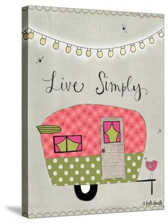 Simple Camper-Katie Doucette-Stretched Canvas Print