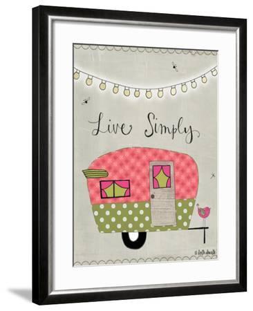 Simple Camper-Katie Doucette-Framed Art Print