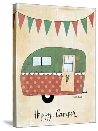 Happy Camper-Katie Doucette-Stretched Canvas Print