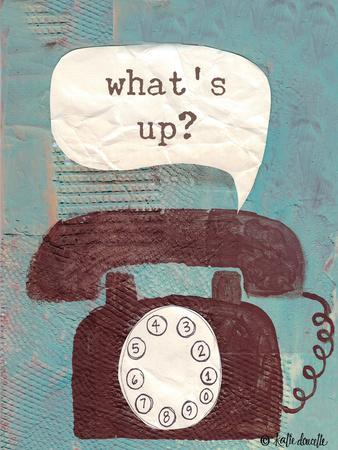 What's Up-Katie Doucette-Framed Art Print
