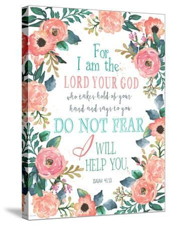 Do Not Fear-Jo Moulton-Stretched Canvas Print