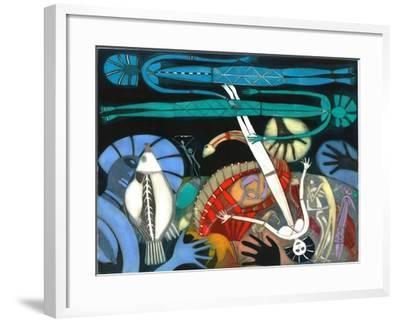 The Dream of the Fish - Falling Star-Annael Anelia Pavlova-Framed Giclee Print