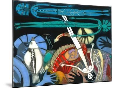 The Dream of the Fish - Falling Star-Annael Anelia Pavlova-Mounted Giclee Print