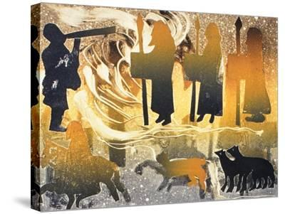 Pictish Melody, 2000-Gloria Wallington-Stretched Canvas Print