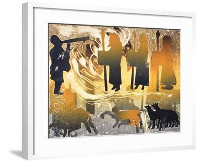 Pictish Melody, 2000-Gloria Wallington-Framed Giclee Print