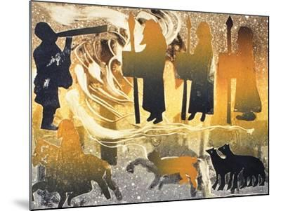 Pictish Melody, 2000-Gloria Wallington-Mounted Giclee Print