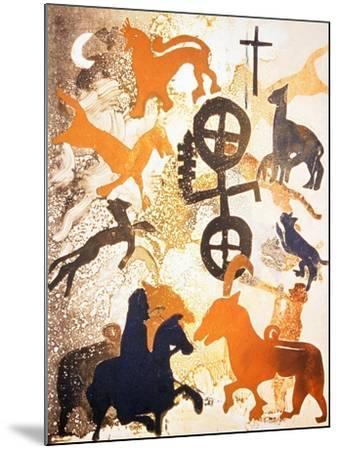 Moonlight, 2000-Gloria Wallington-Mounted Giclee Print