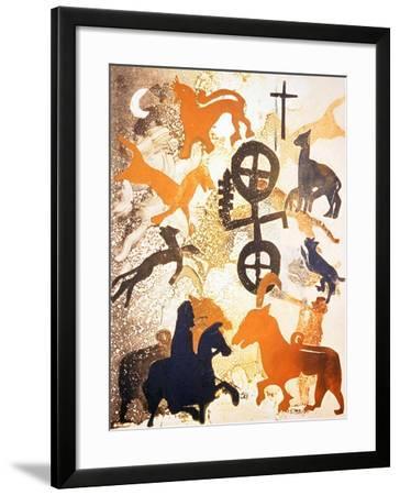 Moonlight, 2000-Gloria Wallington-Framed Giclee Print