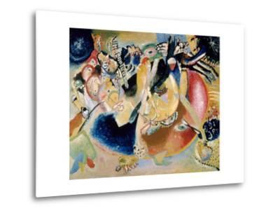Improvisation of Cold Forms, 1914-Wassily Kandinsky-Metal Print