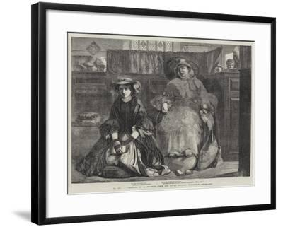 Exhibition of the Royal Academy-Abraham Solomon-Framed Giclee Print