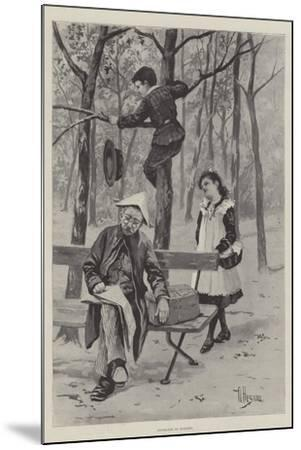 Exchange No Robbery-Albert Besnou-Mounted Giclee Print