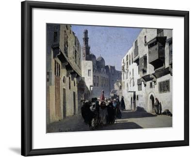 Mosque of Tulun, 1860-Alberto Pasini-Framed Giclee Print