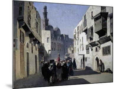 Mosque of Tulun, 1860-Alberto Pasini-Mounted Giclee Print