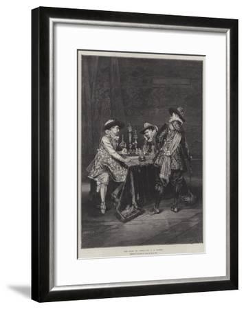 The Game of Chess-Adolphe Alexandre Lesrel-Framed Giclee Print