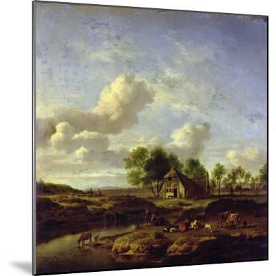 The Little Farm, 1661-Adriaen van de Velde-Mounted Giclee Print