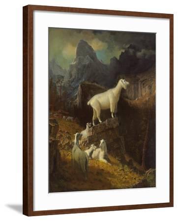 Landscape-Albert Bierstadt-Framed Giclee Print