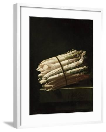 Still Life of Asparagus, 1699-Adrian Coorte-Framed Giclee Print